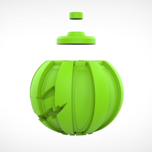 036.jpg Download 3MF file Green goblin bombs from the Spide-Man comics • 3D print model, vetrock