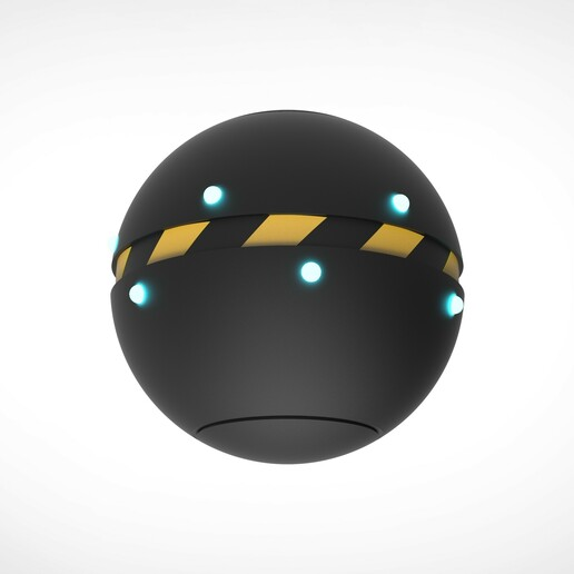 007.jpg Download 3MF file Trap Orb from the Ghostbusters comics  • 3D printable object, vetrock