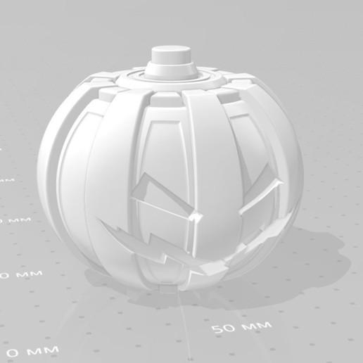 044.jpg Download 3MF file Green goblin bombs from the Spide-Man comics • 3D print model, vetrock
