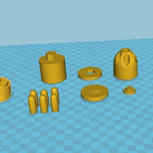 040.jpg Download 3MF file Glue grenade from the video game Batman: Arkham Origins • 3D printer model, vetrock