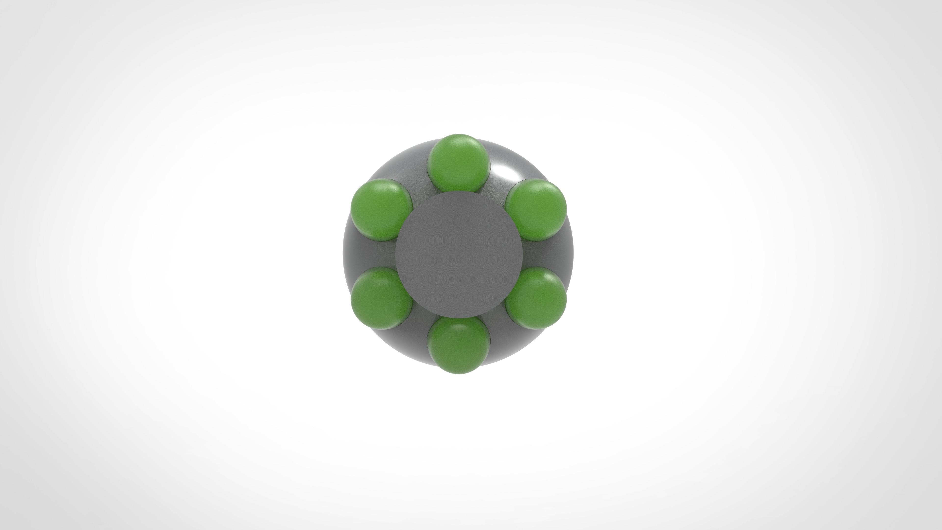 013.jpg Download 3MF file Glue grenade from the video game Batman: Arkham Origins • 3D printer model, vetrock