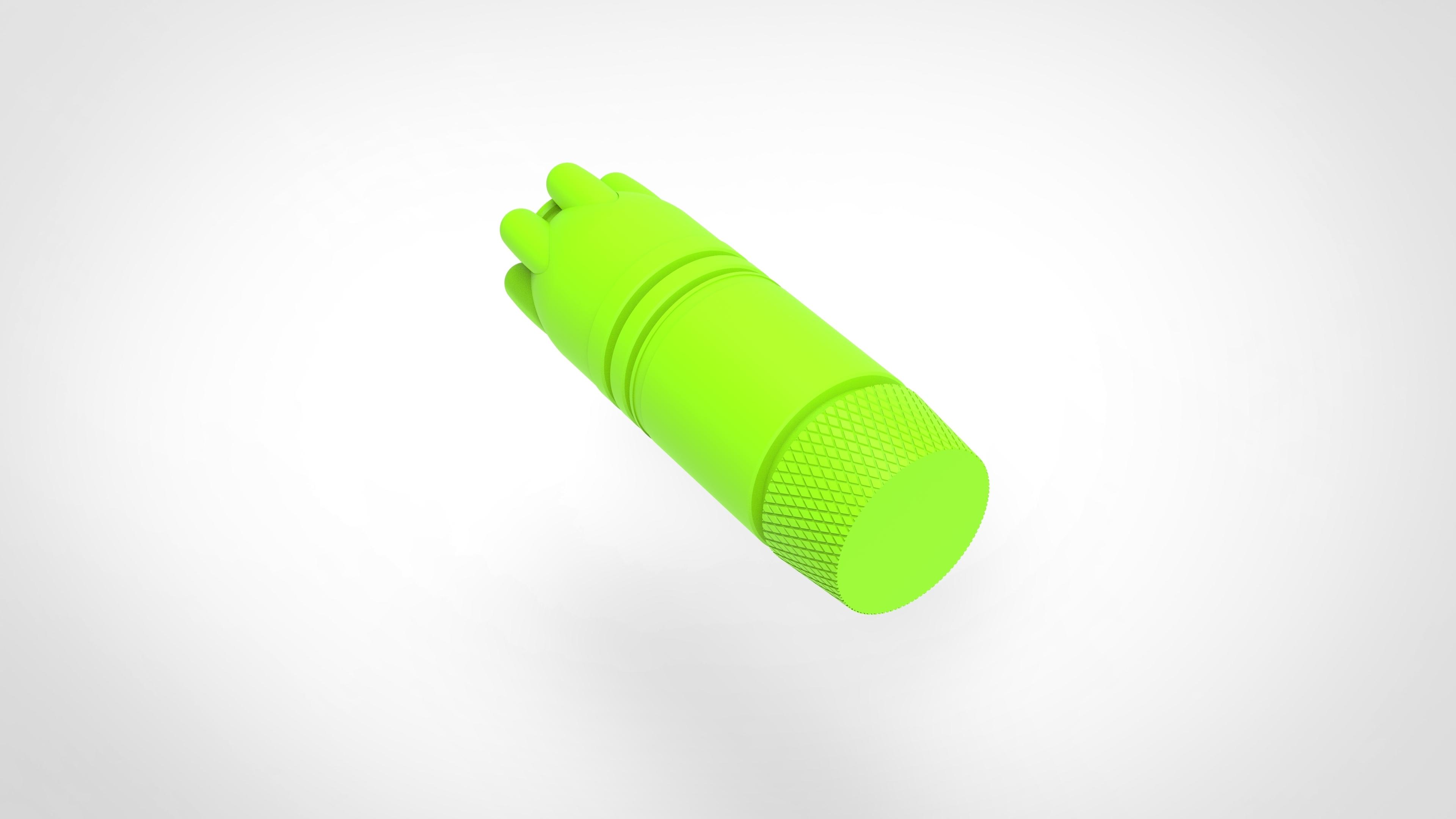 024.jpg Download 3MF file Glue grenade from the video game Batman: Arkham Origins • 3D printer model, vetrock