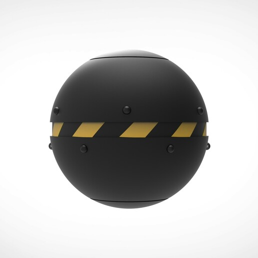 010.jpg Download 3MF file Trap Orb from the Ghostbusters comics  • 3D printable object, vetrock