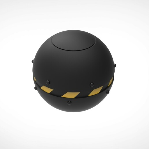 008.jpg Download 3MF file Trap Orb from the Ghostbusters comics  • 3D printable object, vetrock