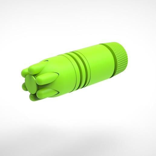 022.jpg Download 3MF file Glue grenade from the video game Batman: Arkham Origins • 3D printer model, vetrock