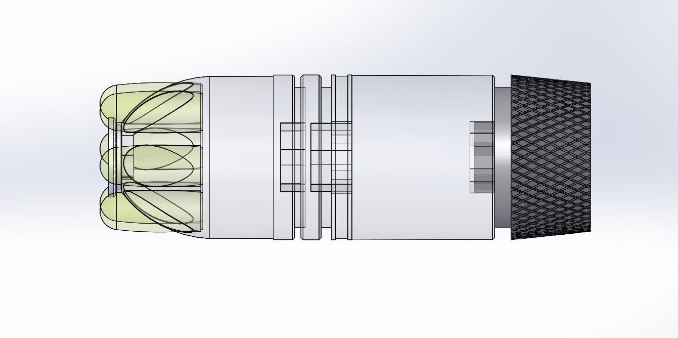 036.jpg Download 3MF file Glue grenade from the video game Batman: Arkham Origins • 3D printer model, vetrock