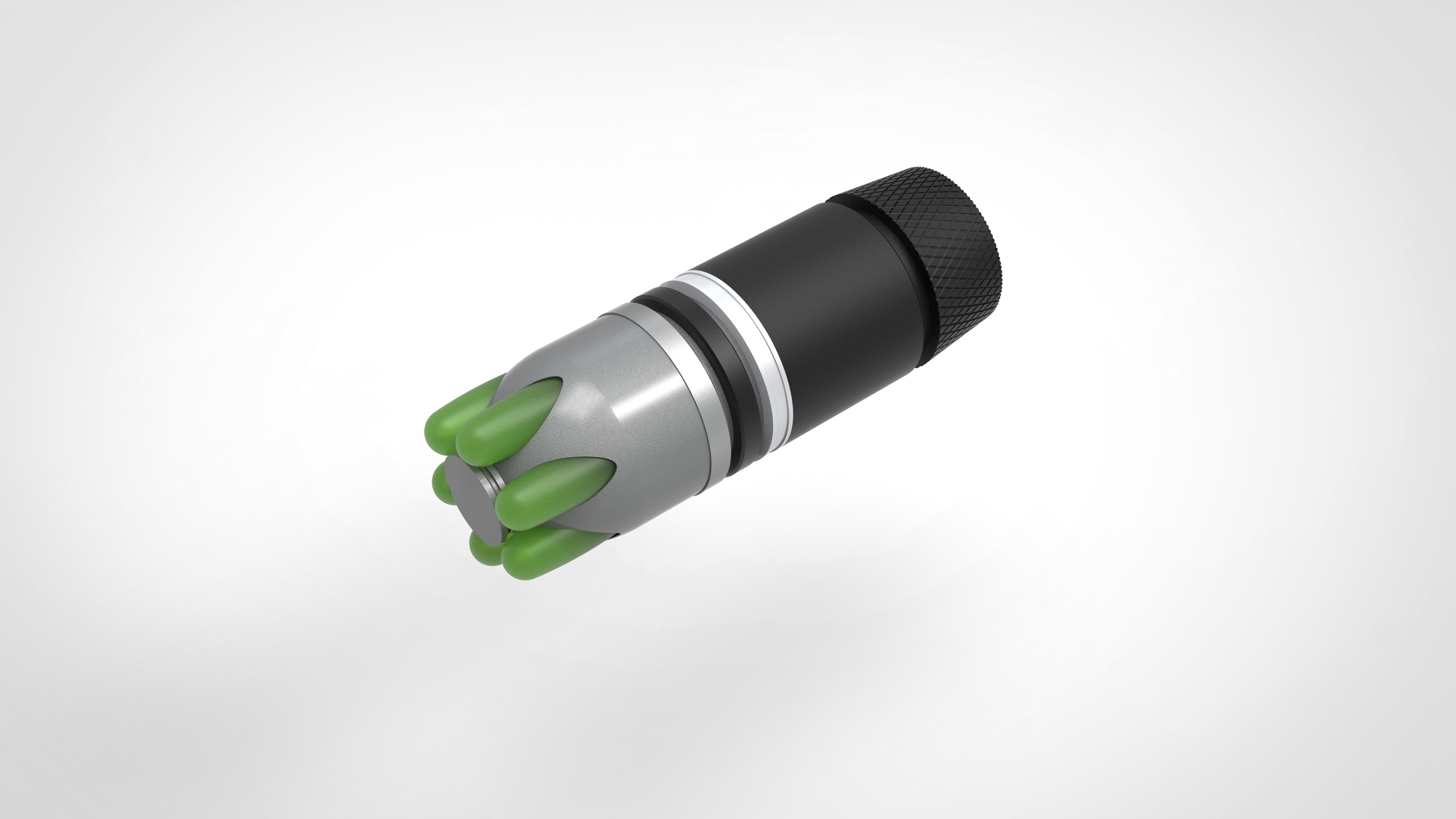 006.jpg Download 3MF file Glue grenade from the video game Batman: Arkham Origins • 3D printer model, vetrock