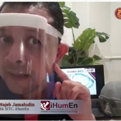 Télécharger fichier impression 3D gratuit Écran facial UTMShield, Najeb