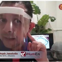 Descargar modelos 3D gratis Escudo facial UTMShield, Najeb