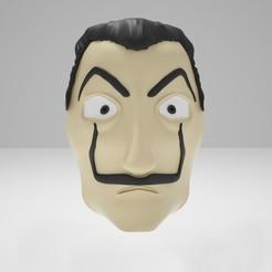 Download 3D printer templates Dali Mask 3D-Modell, Korsorh