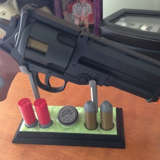 Download free STL file The Hellboy PROP Gun model • Model to 3D print, krisnaas14