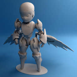 Download free 3D printing files Valkyrie Reckon model, krisnaas14