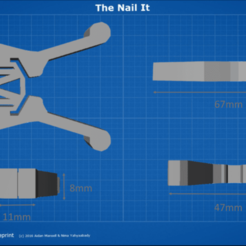 container_the-nail-it-a-simplistic-nail-guide-for-anyone-3d-printing-99771.png Download free STL file The Nail It - A simplistic nail guide for anyone. • 3D printing model, krisnaas14