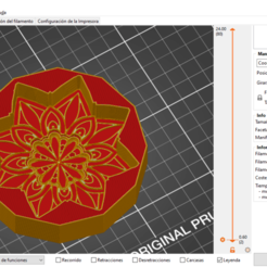Mandala 1.png Download STL file Mandala Soap Mold • Design to 3D print, sandemartin