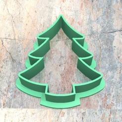 C_D_Arbol de Navidad_002.jpg Télécharger fichier STL COUPE-CROCHET. PÂTE À BISCUIT FONDAN À L'EMPORTE-PIÈCE. ARBRE DE NOËL_002 • Objet à imprimer en 3D, Centenario3D
