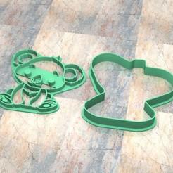 D_Koala.jpg Télécharger fichier STL Timbre/tampon à biscuits. Timbre à biscuit/tampon.Koala • Design pour imprimante 3D, Centenario3D