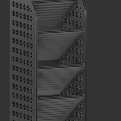 Organizador escritorio con orificios.png Download free STL file Desktop Organizer • 3D printing design, Bitxeta