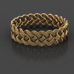 Télécharger STL gratuit Modèle d'impression 3D de bijoux en forme de bague pour homme, Cadagency