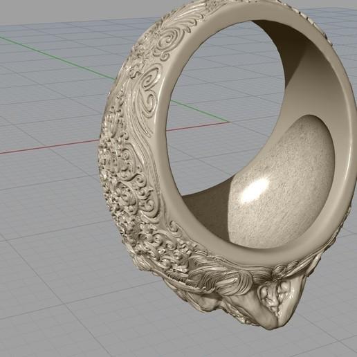Screenshot_12.jpg Download free STL file Skull ring jewelry skeleton ring 3D print model • 3D print object, Cadagency