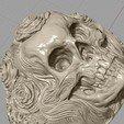 Screenshot_7.jpg Download free STL file Skull ring jewelry skeleton ring 3D print model • 3D print object, Cadagency
