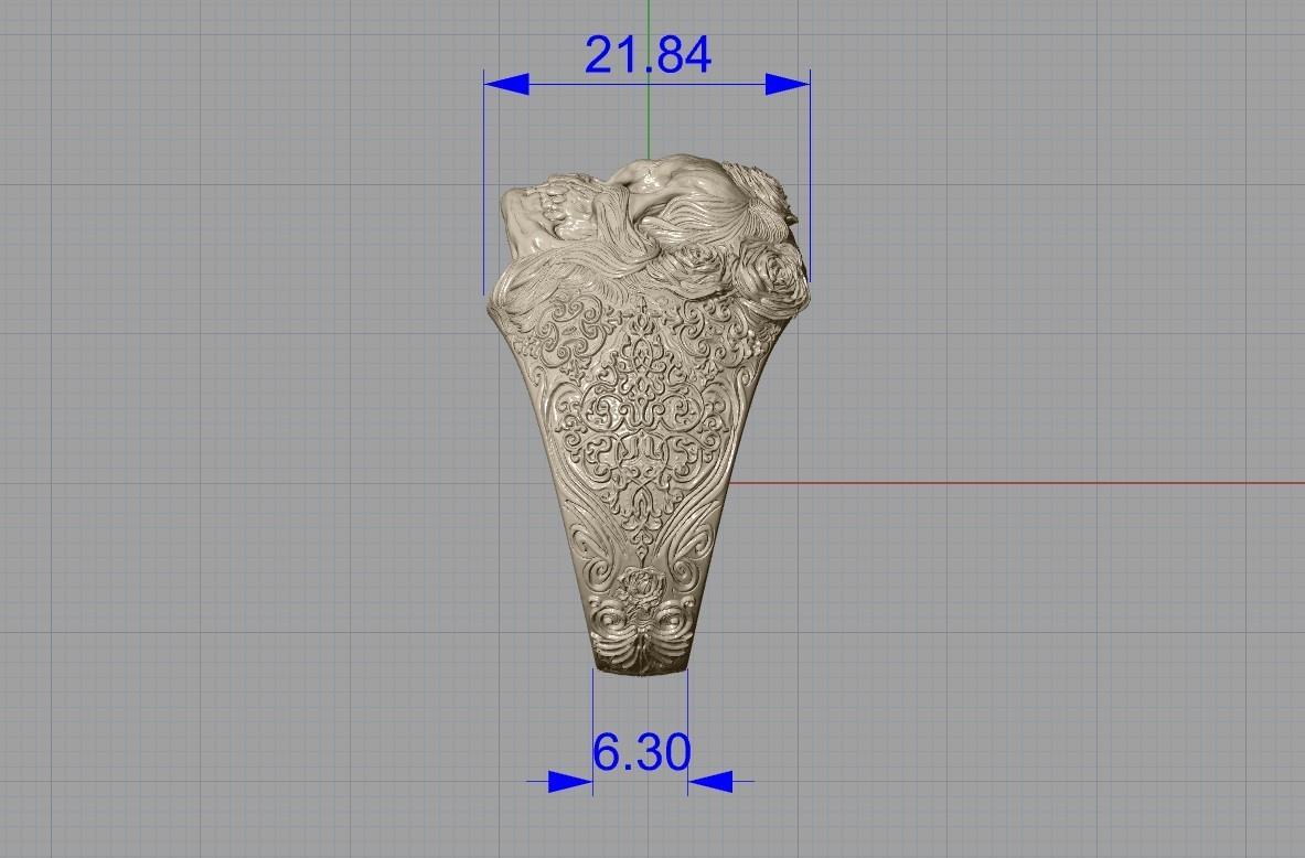Screenshot_3.jpg Télécharger fichier STL gratuit Bague crâne bijoux bague squelette modèle d'impression 3D • Plan pour imprimante 3D, Cadagency