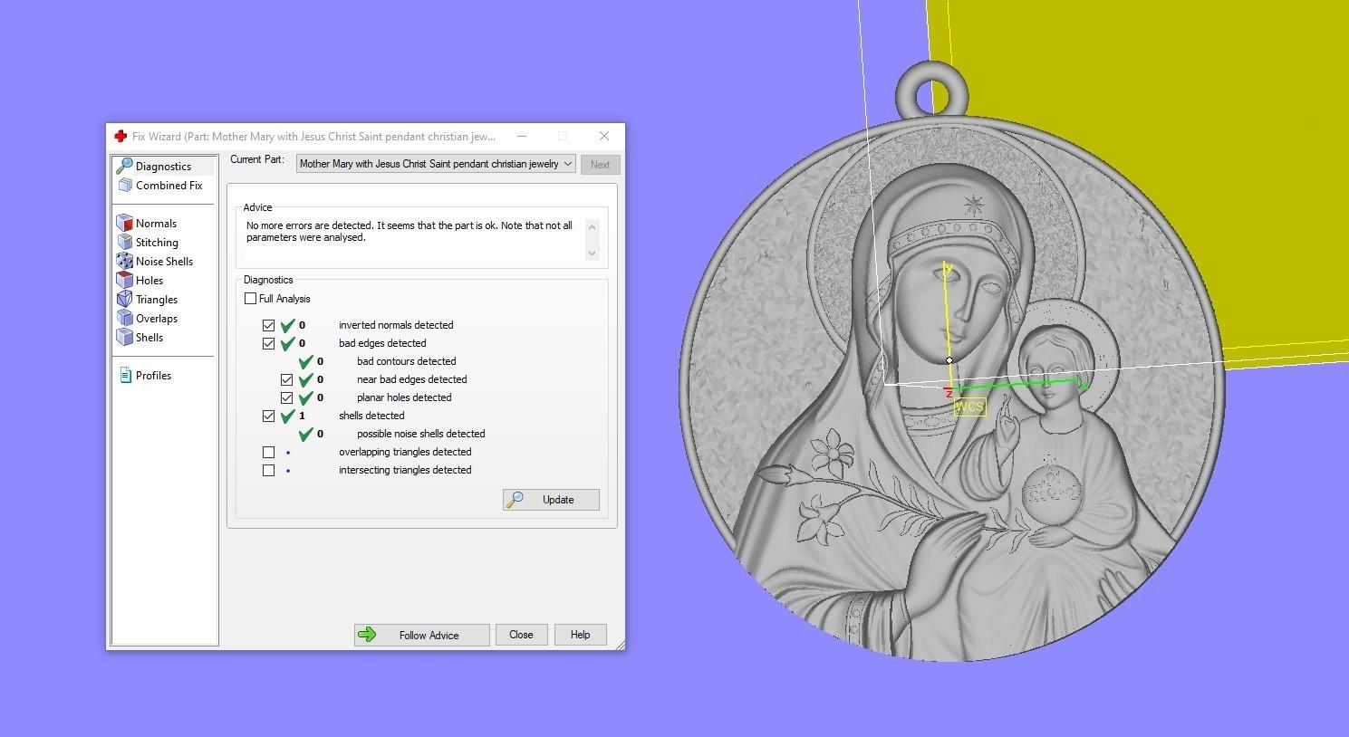 Screenshot_1.jpg Télécharger fichier OBJ gratuit Mère Marie avec Jésus Christ Saint pendentif bijoux chrétiens modèle d'impression 3D • Plan imprimable en 3D, Cadagency