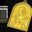 Télécharger STL gratuit Pendentif Jésus bijou croix prier chrétien modèle d'impression 3D, Cadagency