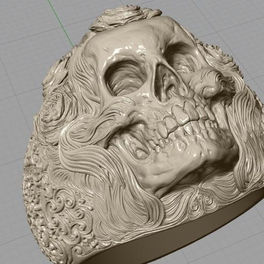 Screenshot_4.jpg Télécharger fichier STL gratuit Bague crâne bijoux bague squelette modèle d'impression 3D • Plan pour imprimante 3D, Cadagency