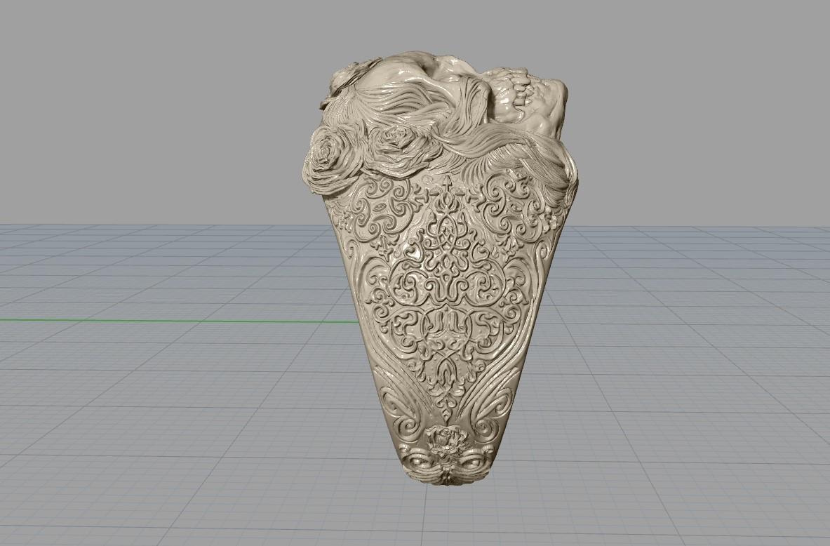 Screenshot_6.jpg Télécharger fichier STL gratuit Bague crâne bijoux bague squelette modèle d'impression 3D • Plan pour imprimante 3D, Cadagency