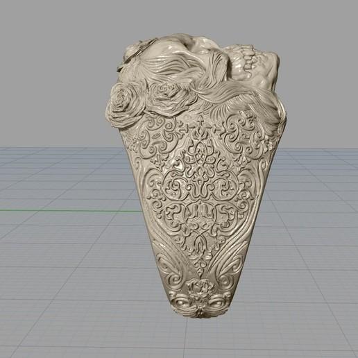 Screenshot_6.jpg Download free STL file Skull ring jewelry skeleton ring 3D print model • 3D print object, Cadagency