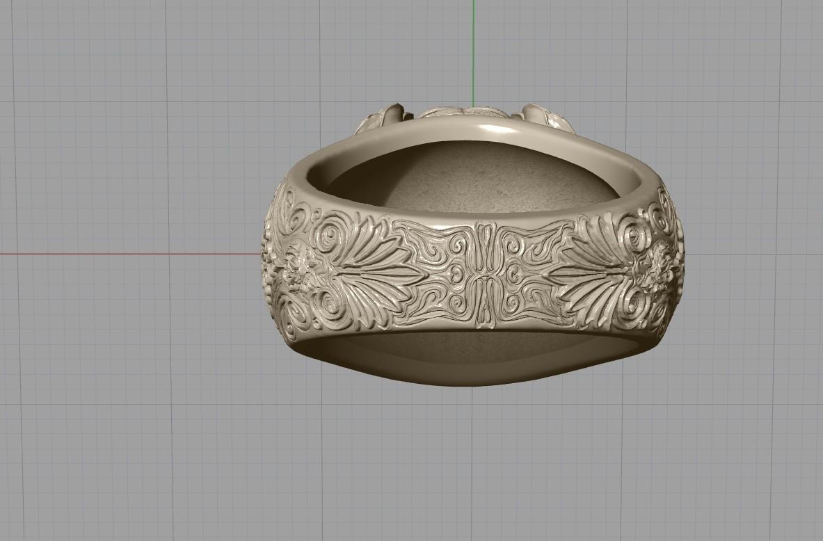 Screenshot_13.jpg Download free STL file Skull ring jewelry skeleton ring 3D print model • 3D print object, Cadagency