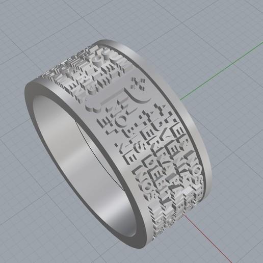 Screenshot_4.jpg Télécharger fichier STL gratuit Christen Pater Noster Our Fathers Bague de prière Modèle d'impression 3D • Plan à imprimer en 3D, Cadagency