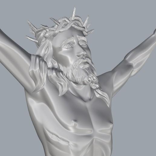Screenshot_2.jpg Télécharger fichier STL gratuit Pendentif Jésus bijou croix prier chrétien modèle d'impression 3D • Objet imprimable en 3D, Cadagency