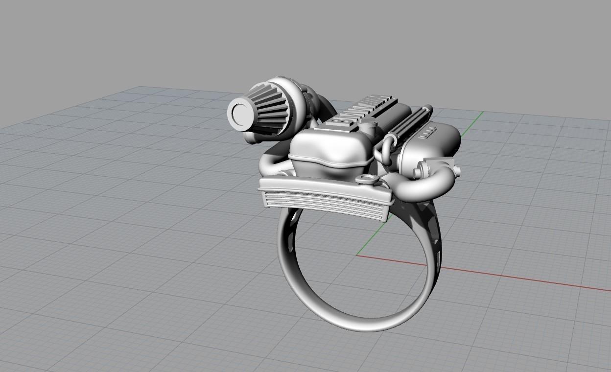 Screenshot_7.jpg Télécharger fichier OBJ gratuit BMW ring moteur ring mator ring • Design pour imprimante 3D, Cadagency