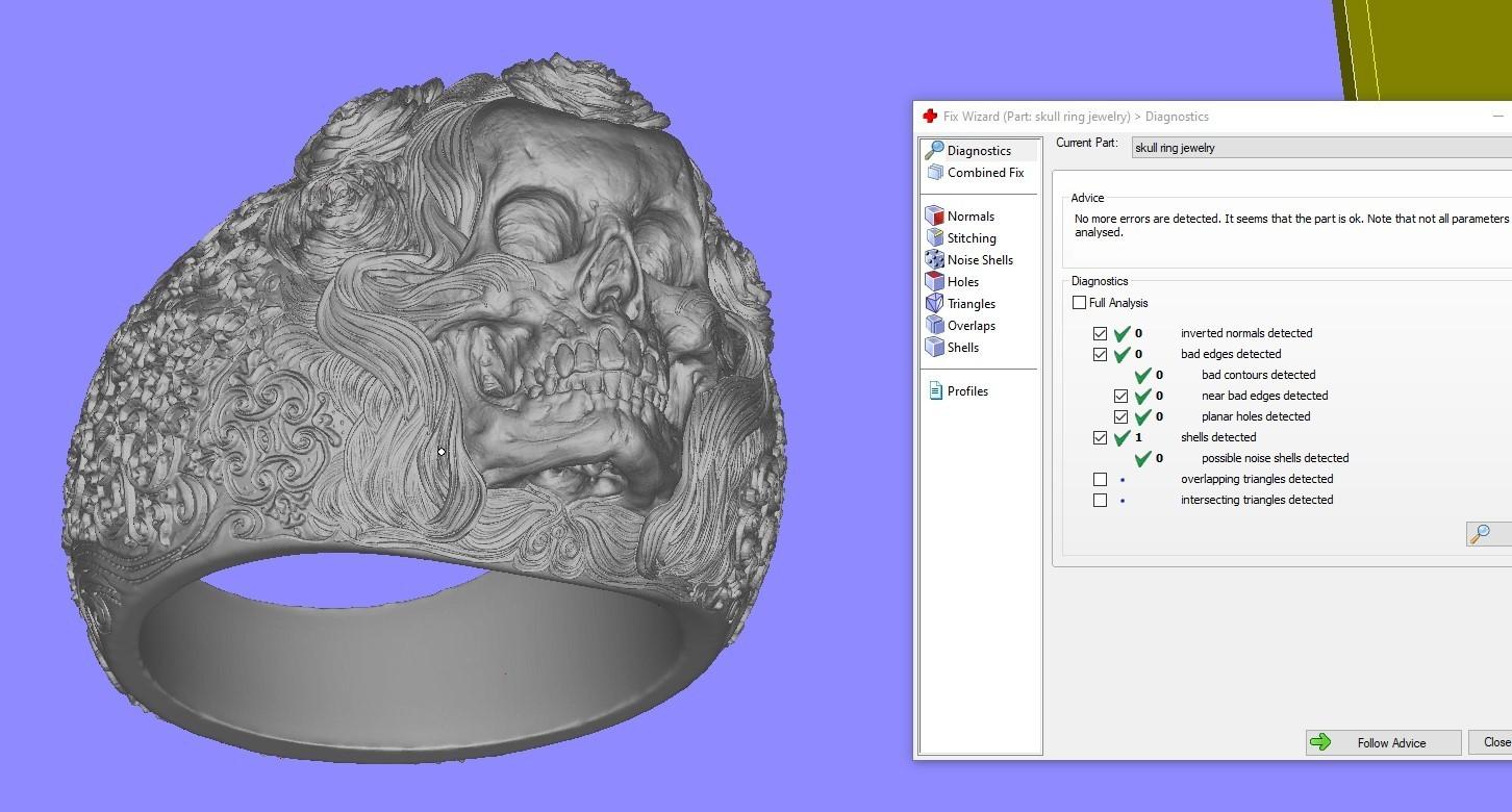 Screenshot_1.jpg Télécharger fichier STL gratuit Bague crâne bijoux bague squelette modèle d'impression 3D • Plan pour imprimante 3D, Cadagency