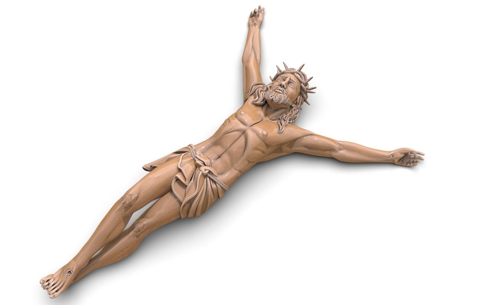 1.jpg Télécharger fichier STL gratuit Pendentif Jésus bijou croix prier chrétien modèle d'impression 3D • Objet imprimable en 3D, Cadagency