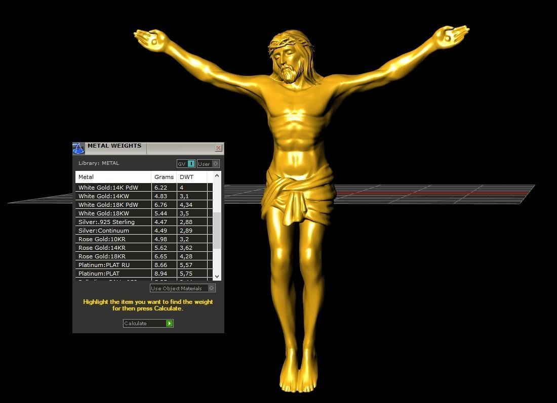 4.jpg Télécharger fichier STL gratuit Pendentif Jésus bijou croix prier chrétien modèle d'impression 3D • Objet imprimable en 3D, Cadagency