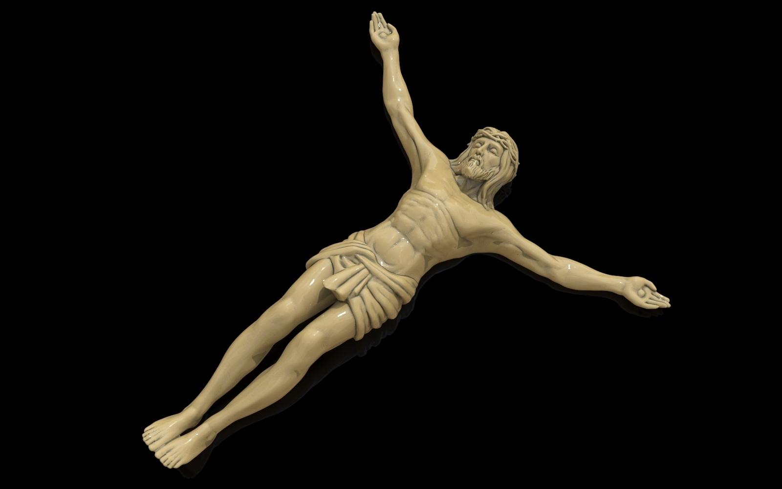 2.jpg Télécharger fichier STL gratuit Pendentif Jésus bijou croix prier chrétien modèle d'impression 3D • Objet imprimable en 3D, Cadagency