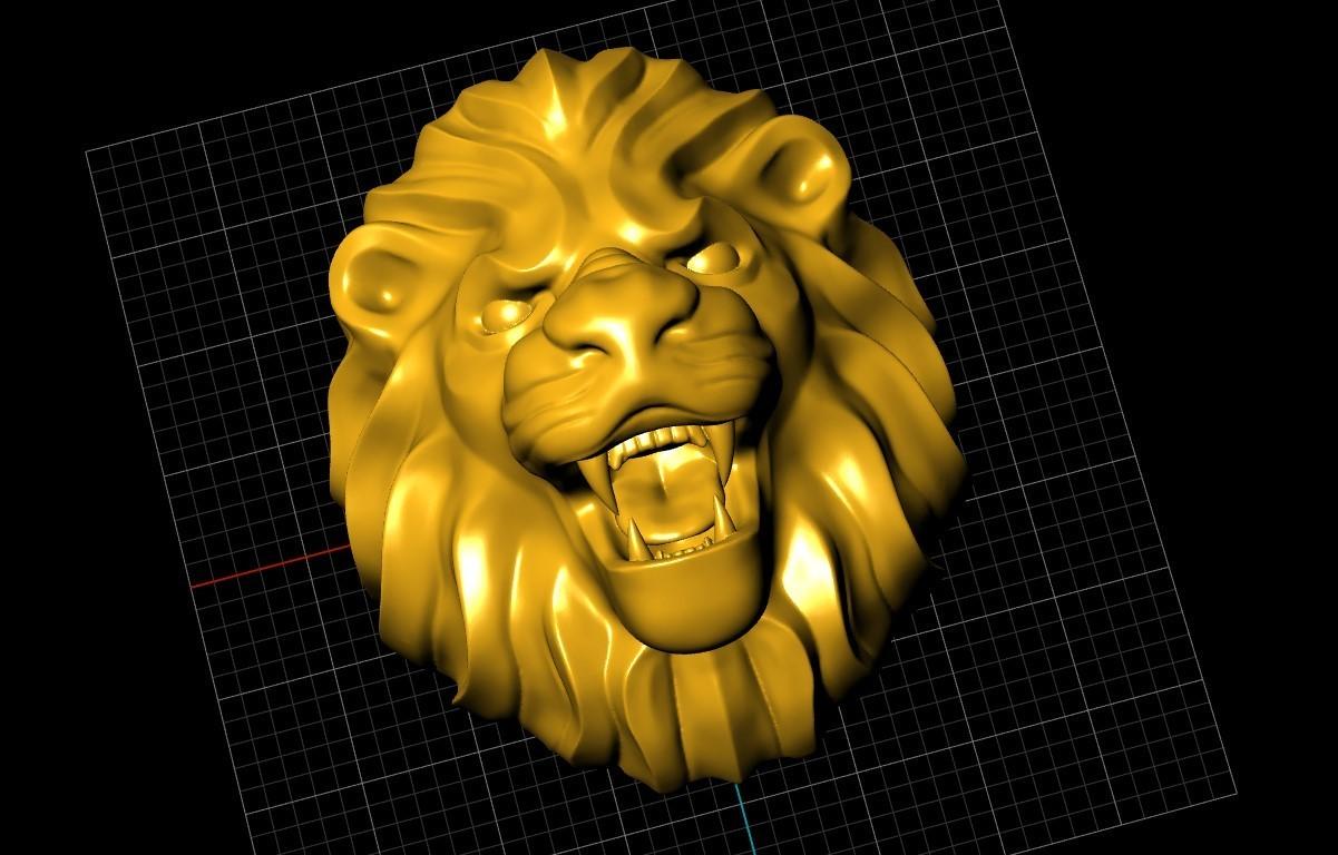 Screenshot_11.jpg Télécharger fichier STL gratuit Bague de lion Bijoux d'homme • Modèle pour imprimante 3D, Cadagency