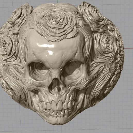 Screenshot_22.jpg Télécharger fichier STL gratuit Bague crâne bijoux bague squelette modèle d'impression 3D • Plan pour imprimante 3D, Cadagency