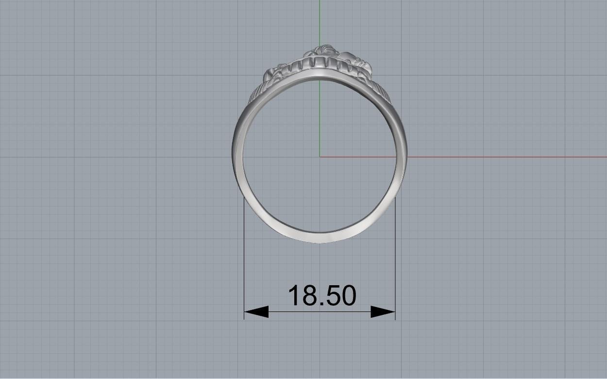 Screenshot_1.jpg Download free STL file Elephant ring Jewelry 3D print model • 3D printing template, Cadagency