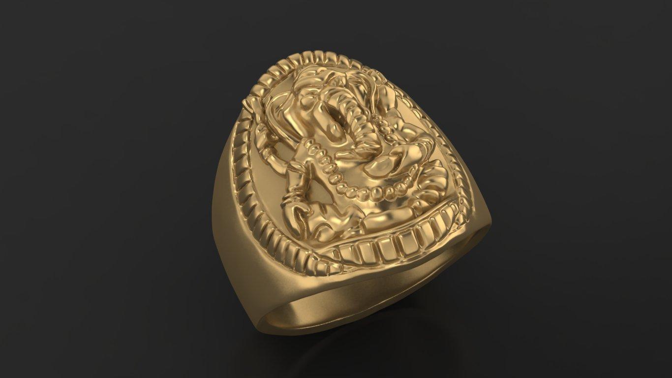 3.jpg Download free STL file Elephant ring Jewelry 3D print model • 3D printing template, Cadagency