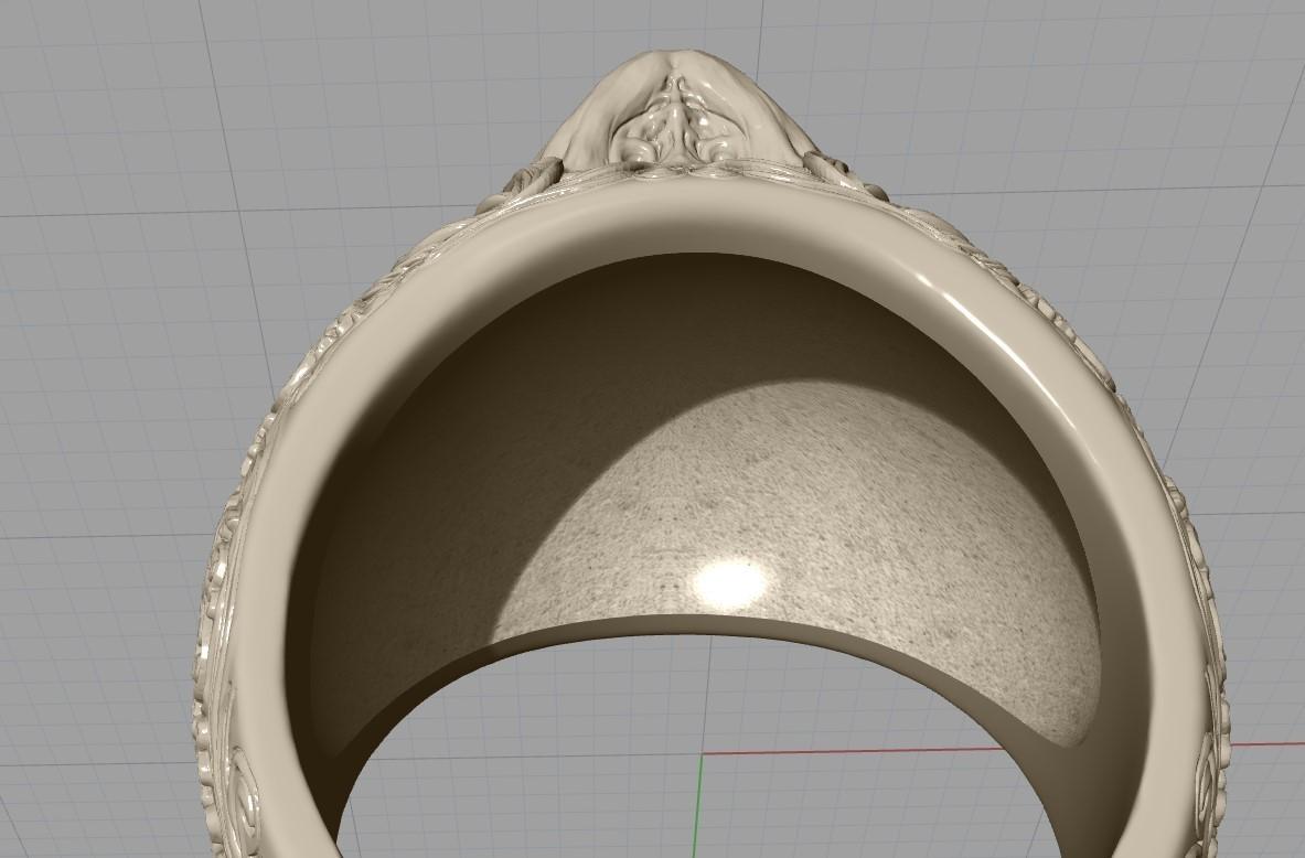 Screenshot_16.jpg Télécharger fichier STL gratuit Bague crâne bijoux bague squelette modèle d'impression 3D • Plan pour imprimante 3D, Cadagency