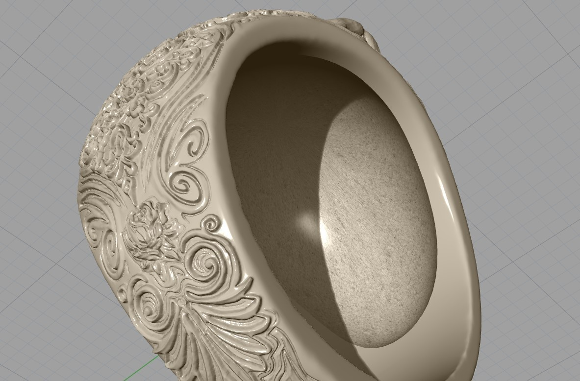 Screenshot_17.jpg Download free STL file Skull ring jewelry skeleton ring 3D print model • 3D print object, Cadagency