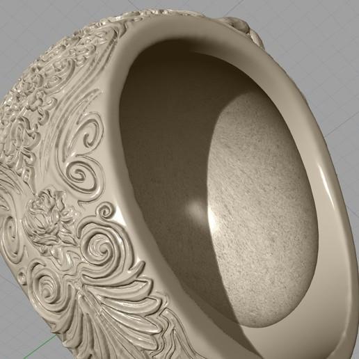 Screenshot_17.jpg Télécharger fichier STL gratuit Bague crâne bijoux bague squelette modèle d'impression 3D • Plan pour imprimante 3D, Cadagency