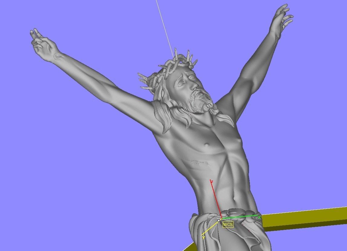Screenshot_5.jpg Télécharger fichier STL gratuit Pendentif Jésus bijou croix prier chrétien modèle d'impression 3D • Objet imprimable en 3D, Cadagency