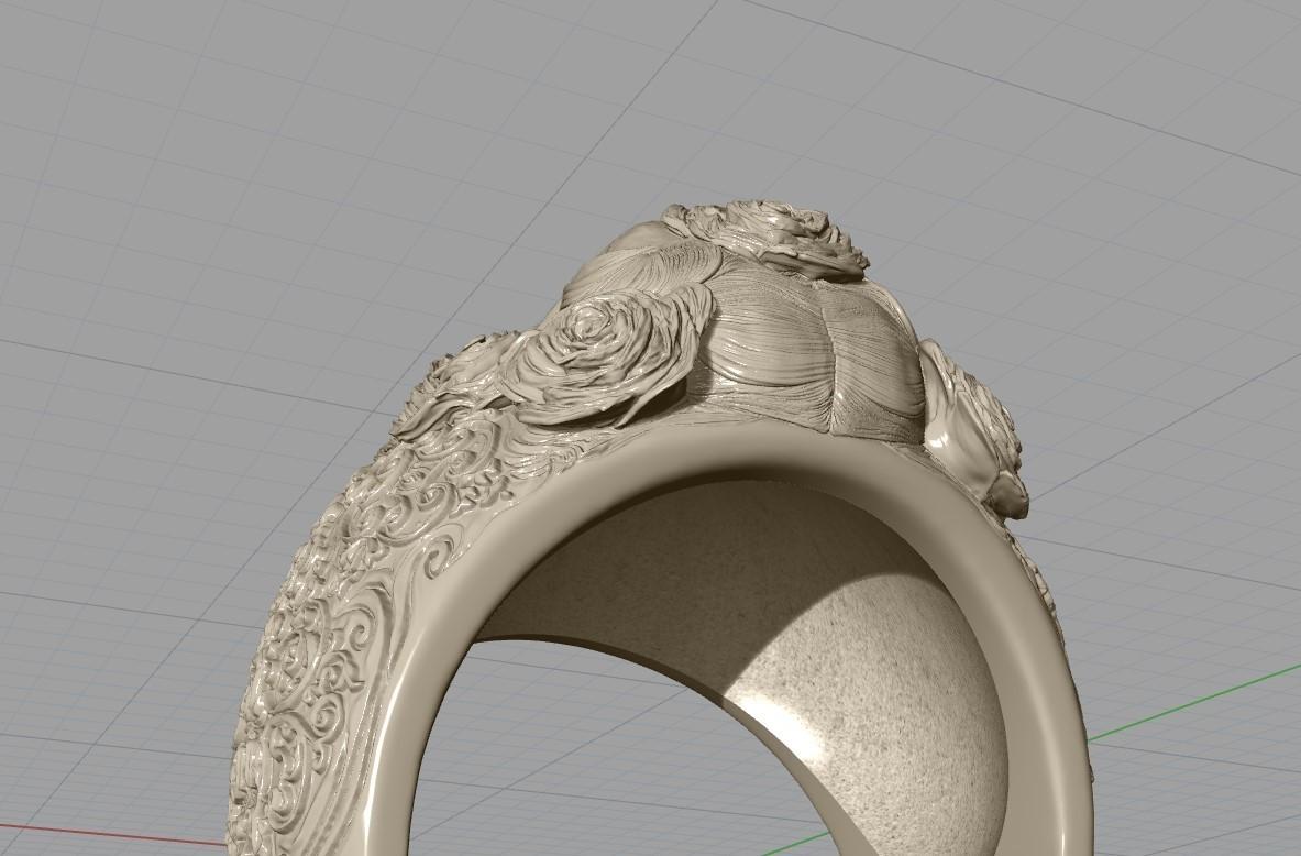 Screenshot_14.jpg Download free STL file Skull ring jewelry skeleton ring 3D print model • 3D print object, Cadagency