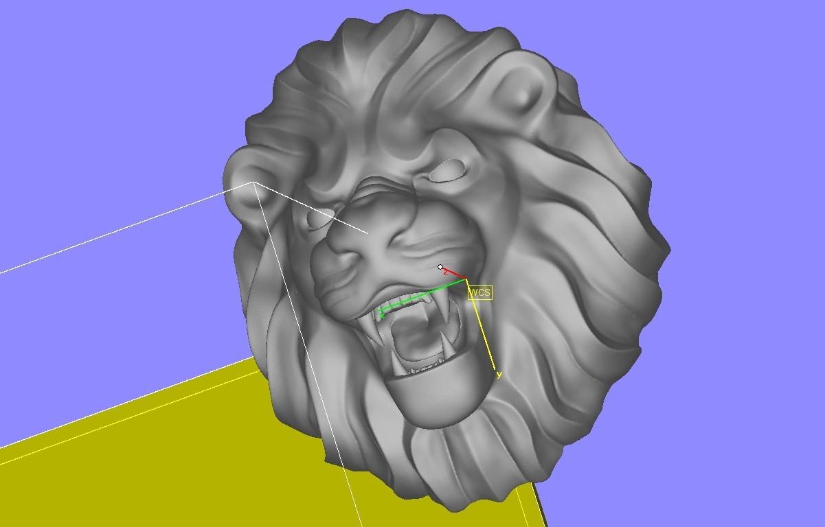 Screenshot_7.jpg Télécharger fichier STL gratuit Bague de lion Bijoux d'homme • Modèle pour imprimante 3D, Cadagency