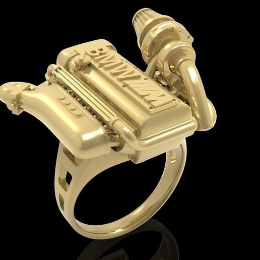 untitled.116.jpg Télécharger fichier OBJ gratuit BMW ring moteur ring mator ring • Design pour imprimante 3D, Cadagency