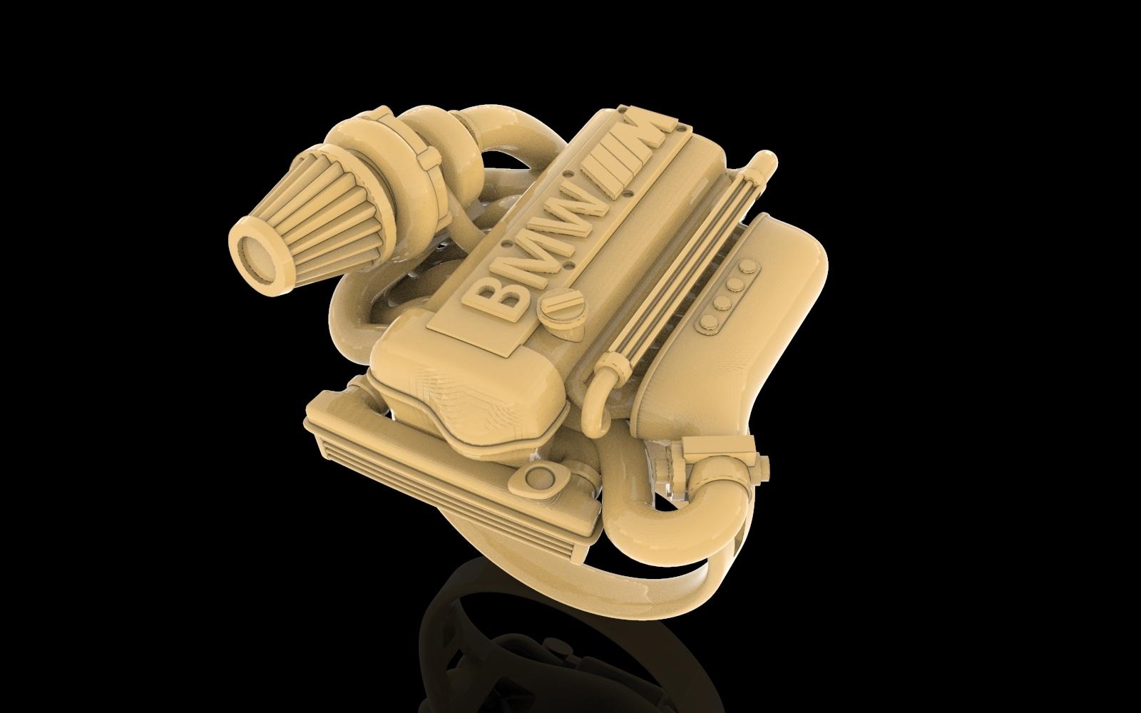 untitled.118.jpg Télécharger fichier OBJ gratuit BMW ring moteur ring mator ring • Design pour imprimante 3D, Cadagency
